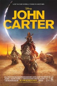 John carter movie poster 3