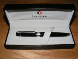 Sheaffer box