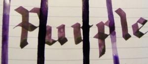Purple Sheen